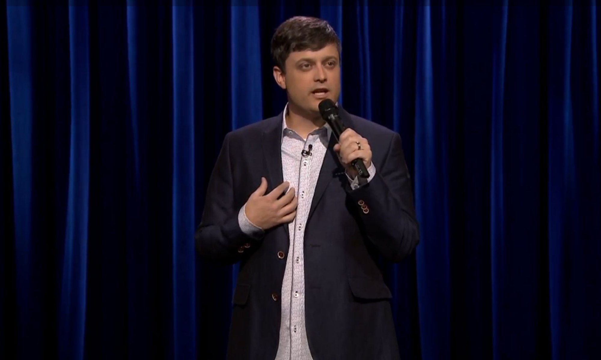 Nate Bargatze on The Tonight Show starring Jimmy Fallon April 21, 2015