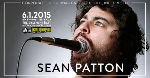 Sean Patton at The Basement East 6/1/2015