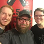 James Austin Johnson, Chad Riden, Mary Jay Berger at WXNA 11/23/2016