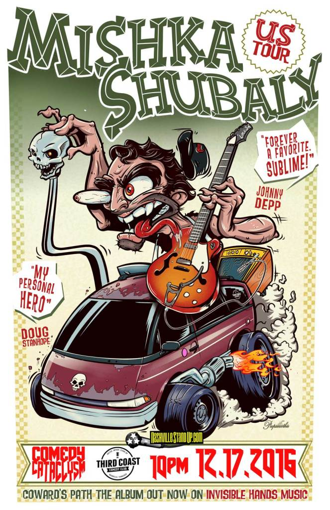 Mishka Shubaly & Comedy Cataclysm at Third Coast Comedy Club 10pm sat 12/17/2016.