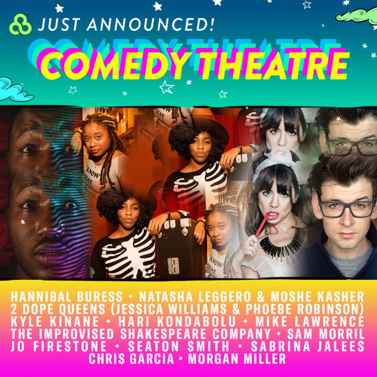 2017 Bonnaroo comedy lineup
