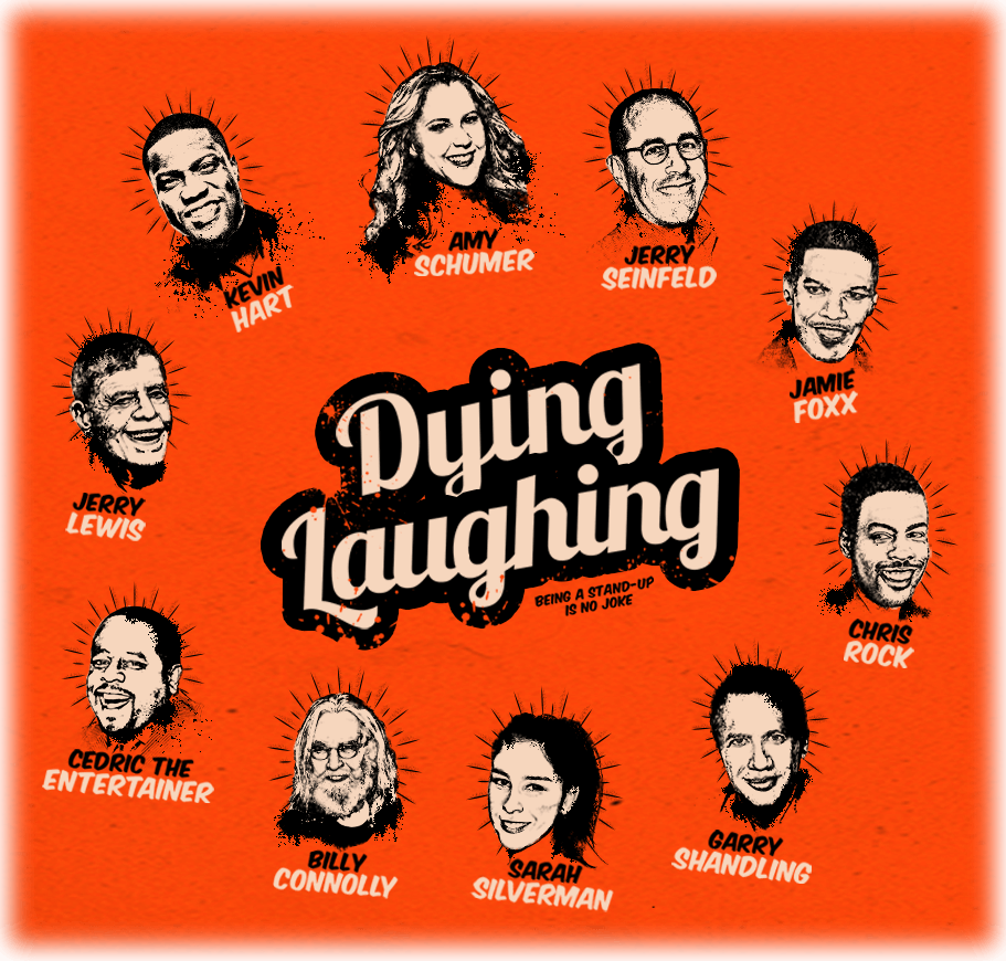 Dying Laughing film poster
