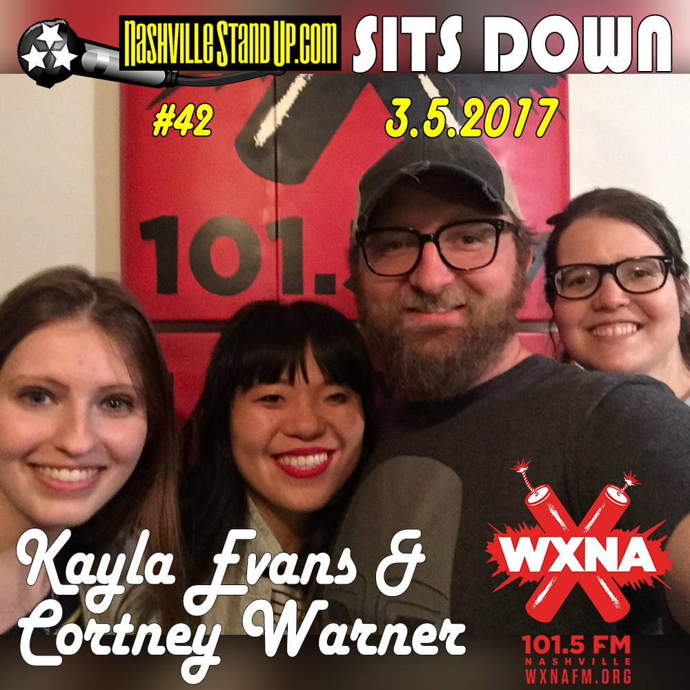 Chad Riden and Mary Jay Berger welcome guests Kayla Evans & Cortney Warner to WXNA