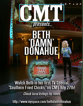 Beth Damn Donahue & The Southern Fried Chicks Tour