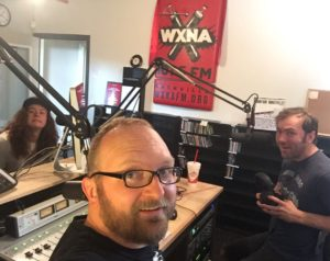Josh Wagner, Chad Riden, Josh Lewis at WXNA for Nashville StandUp Sits Down 7/20/2016