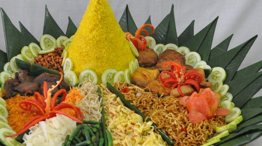 Nasi Tumpeng Extra Nasi Kentjana