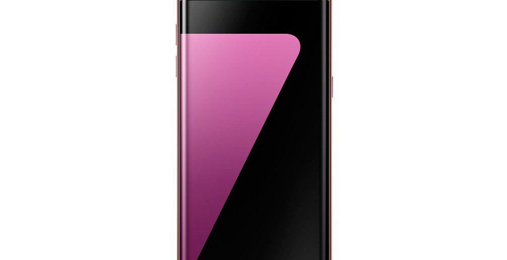 Galaxy S7 Edge is now available in Pink Gold