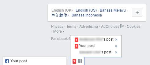 Facebook Post Tab