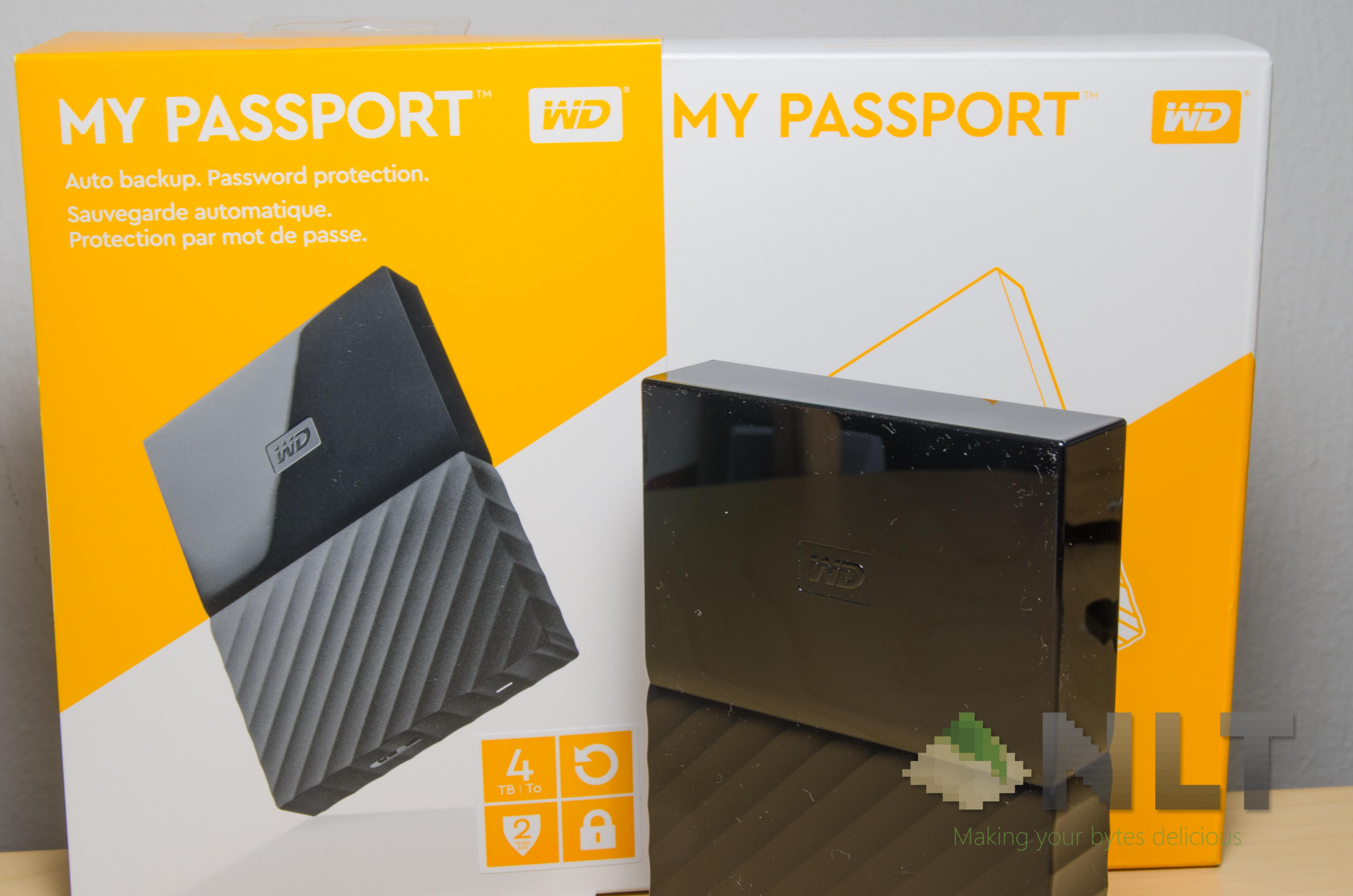 Review - WD My Passport (2016): Colourful Luminescence