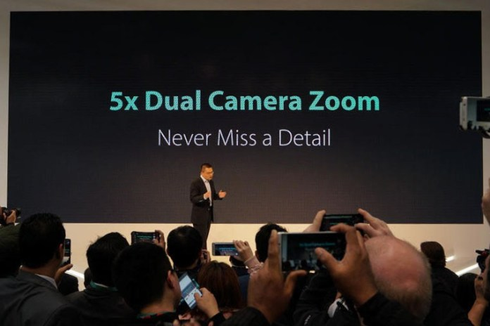 MWC2017 OPPO 5x Dual-Camera Zoom
