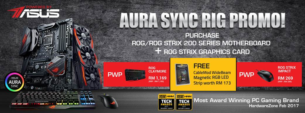 ASUS Aura Sync Rig Promotion Is For RGB Fanatics | Nasi Lemak Tech