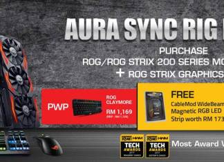 ASUS Aura Sync Rig Promotion