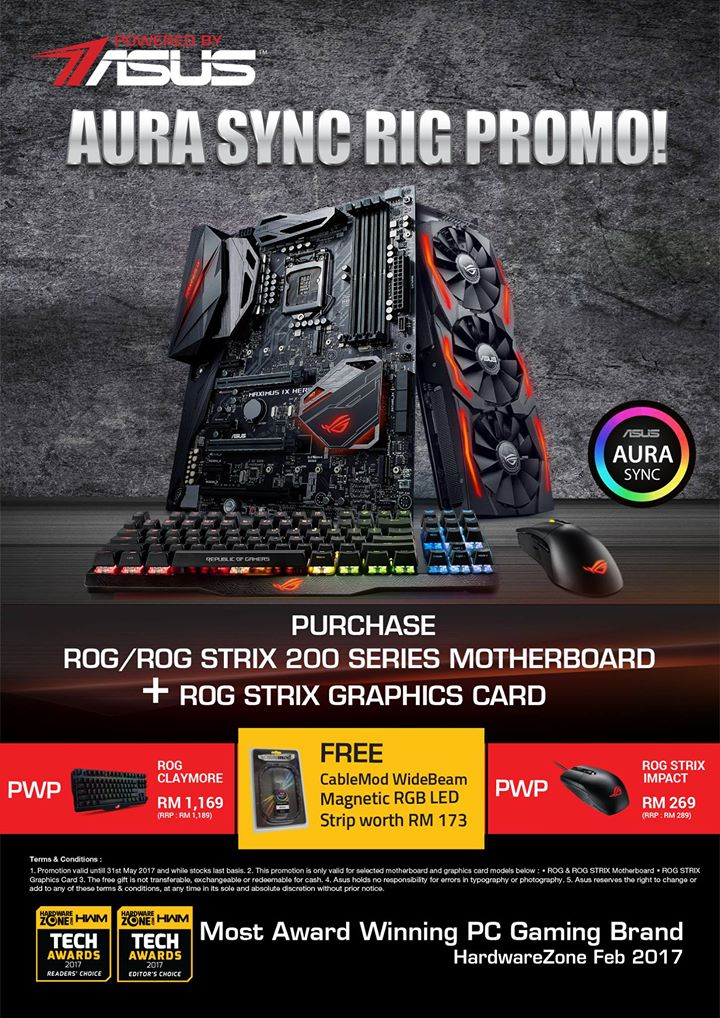 ASUS Aura Sync Rig Promotion Is For RGB Fanatics | Nasi