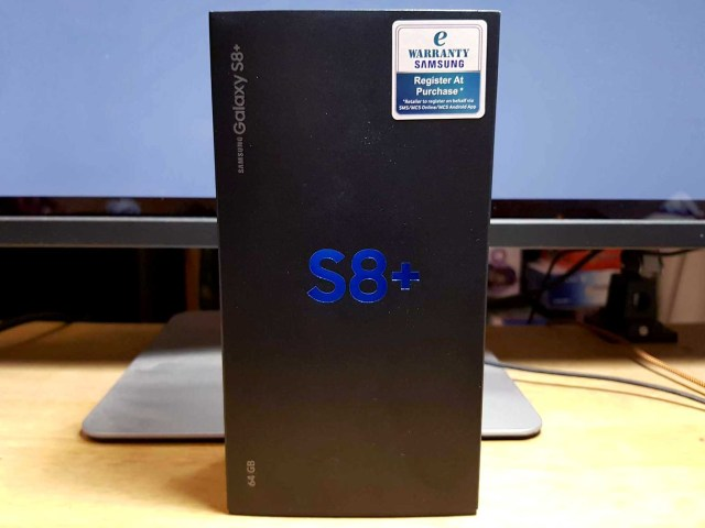 Samsung Galaxy S8 S8+ unboxing