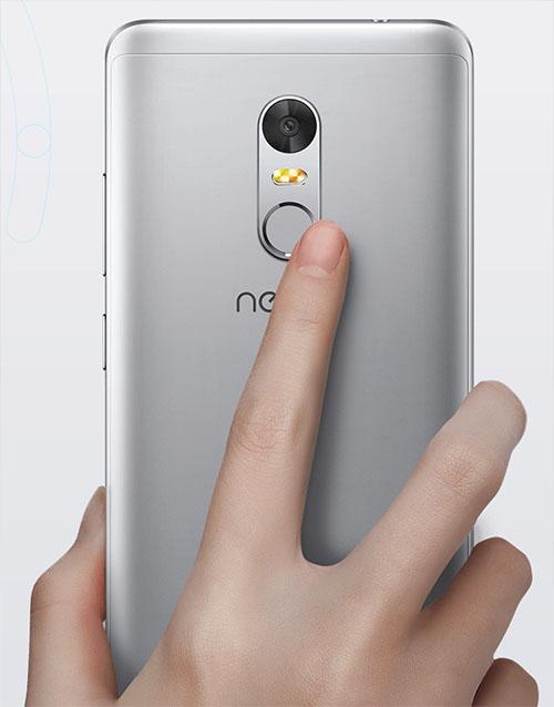 Neffos X1 Lite fingerprint