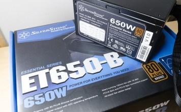 SilverStone ET650-B header