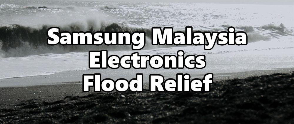Samsung Flood Relief header
