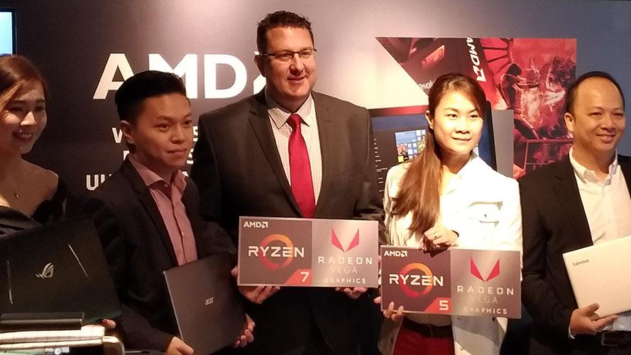 AMD Ryzen Mobile Processor Launched In Malaysia | Nasi Lemak