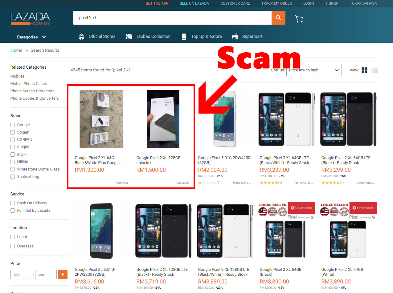 PSA] Lazada Scam! Here's How To Avoid Them - UPDATED | Nasi