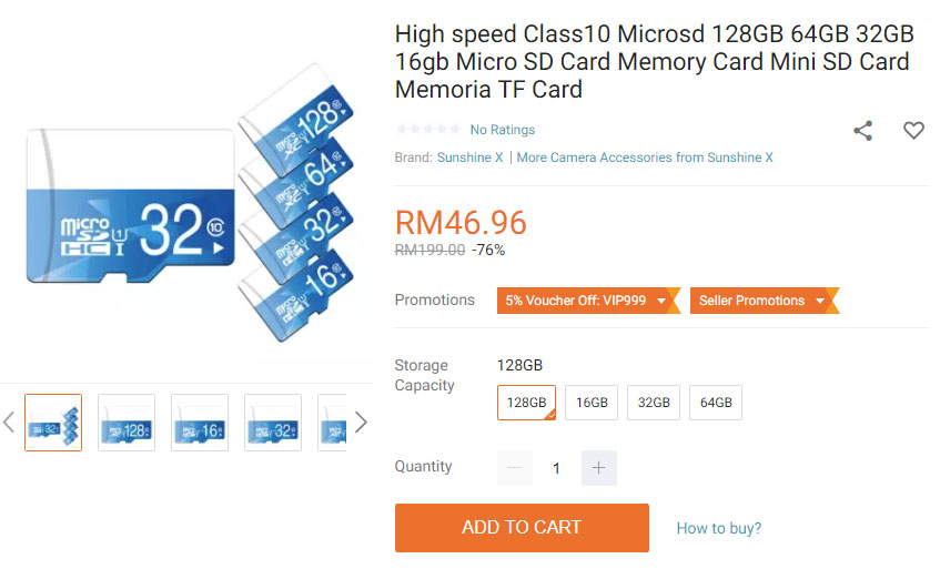 Psa lazada scam heres how to avoid them updated nasi lemak tech lazada scam microsd card 3 ccuart Images