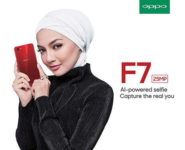 OPPO F7 Neelofa