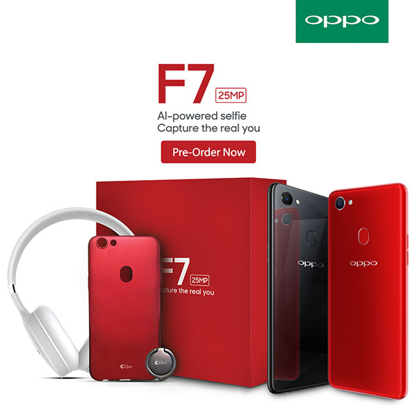 OPPO F7 Pre-order Gift Box