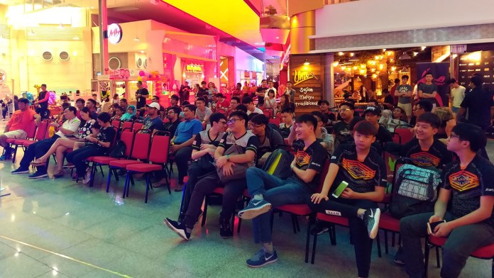 ROG Conquest Penang State Championship Crowd