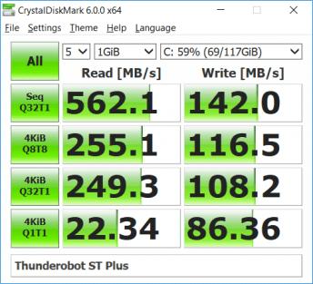 Thunderobot ST Plus SSD Benchmark (1)