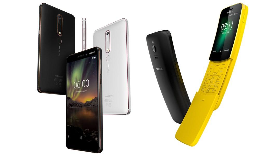Nokia 6.1 Nokia 8110