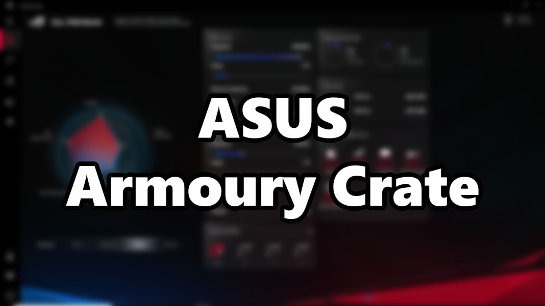 ASUS Armoury Crate