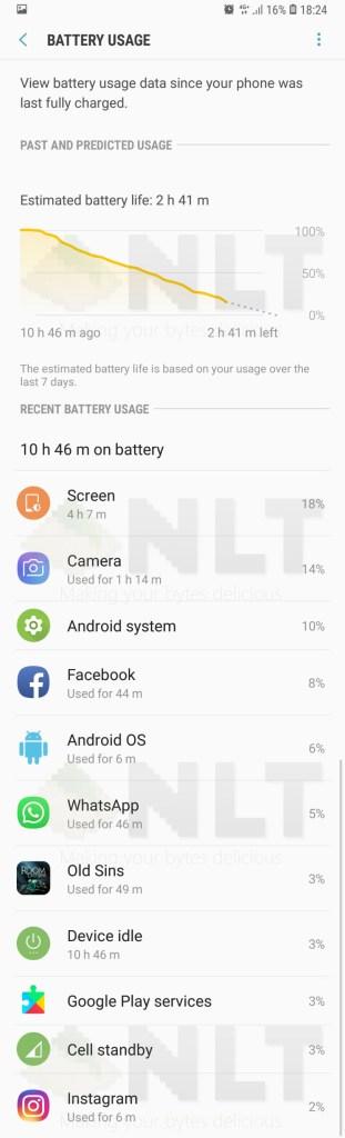 Samsung Galaxy Note9 Taipei Trip battery test