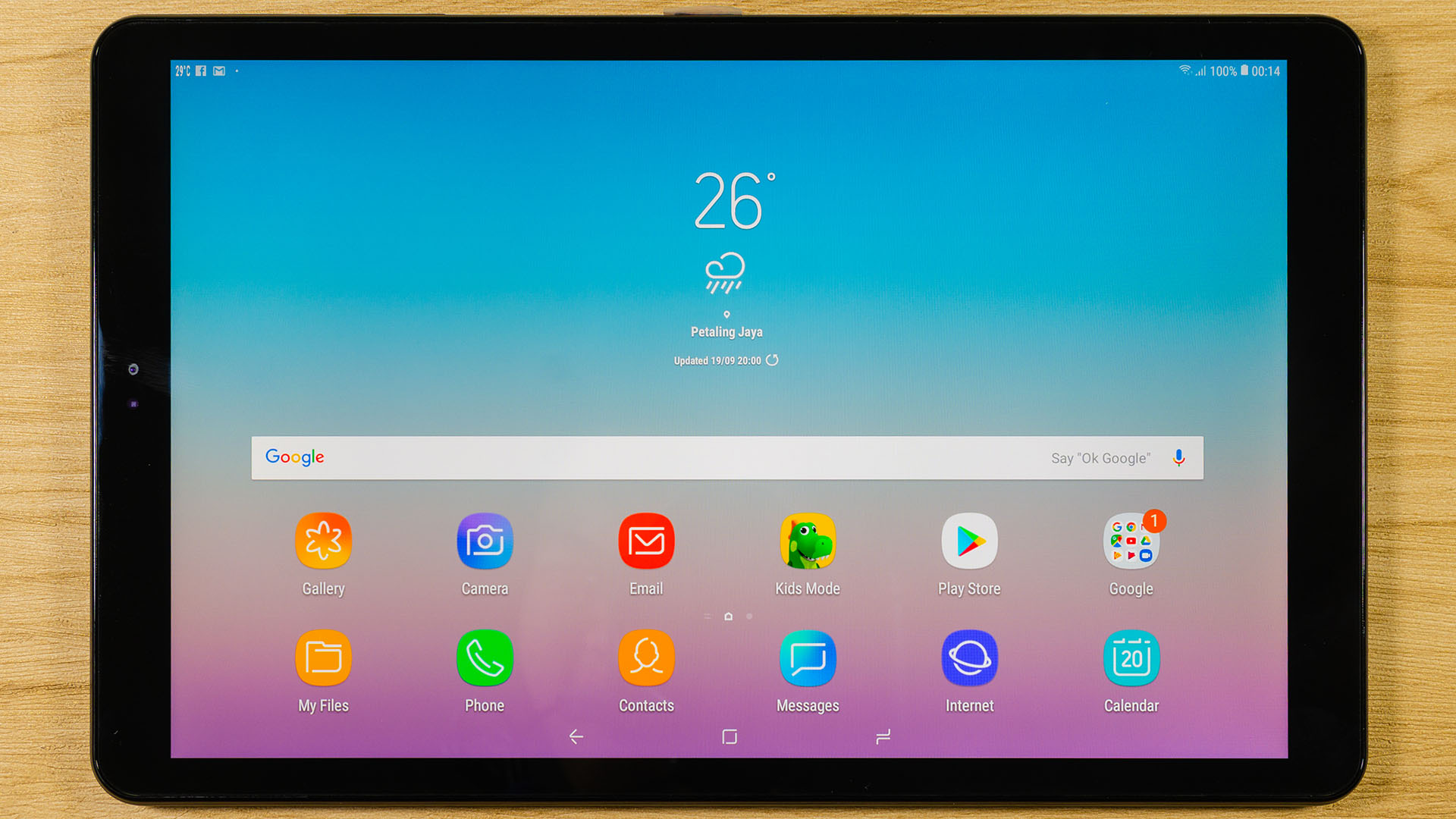 review samsung galaxy tab a 10 5 2018 tablet nasi. Black Bedroom Furniture Sets. Home Design Ideas
