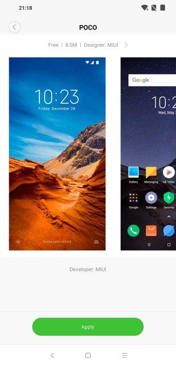 Xiaomi Pocophone F1 MIUI 9.6 POCO Edition
