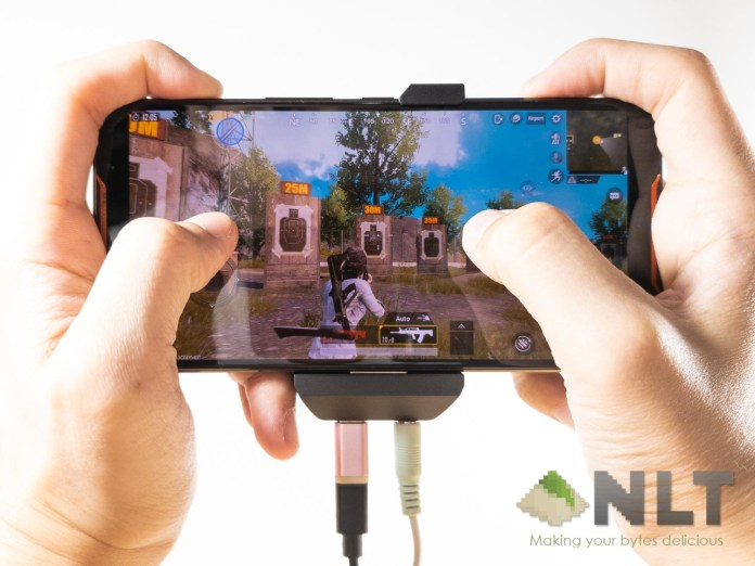 ASUS ROG Phone AirTriggers PUBG Mobile cables
