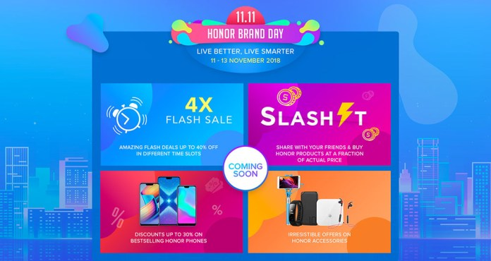 11.11 Honor Brand Day Brings Big Discount & Prizes