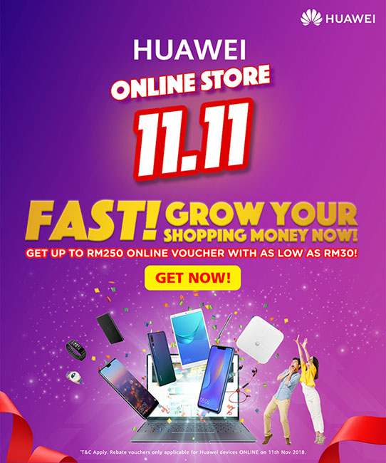 Huawei Readies For Mega Online Sale Day This 11.11