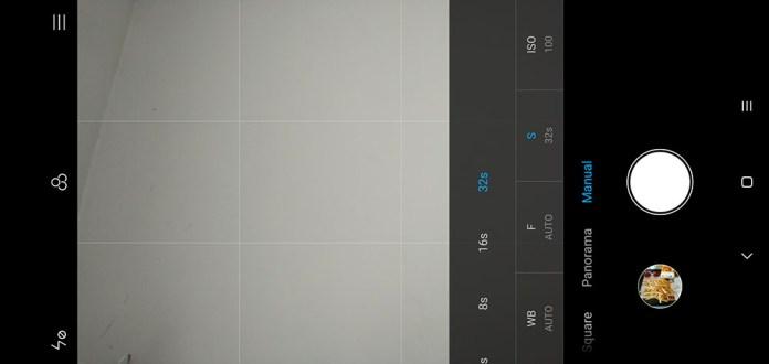 Xiaomi Mi 8 Lite Camera UI