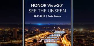 Honor View20 teaser
