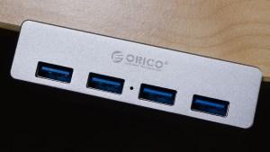 Review - Orico MH4PU USB 3.0 Clip Hub 1