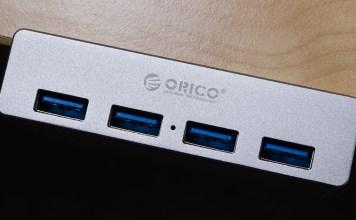 Orico MH4PU USB 3.0 Clip