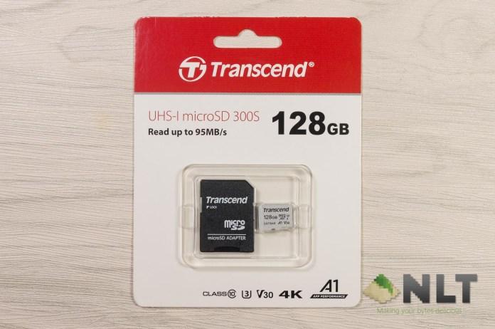 Transcend 300S MicroSD card (TS128GUSD300S-A)