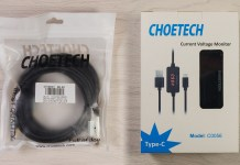 CHOETECH MIX00060 3-Pack Nylon Braided Type C to USB 3.0 Fast Charging Cable