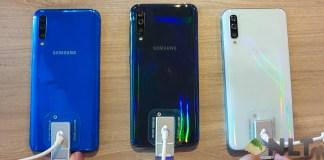 Samsung Galaxy A50 launching