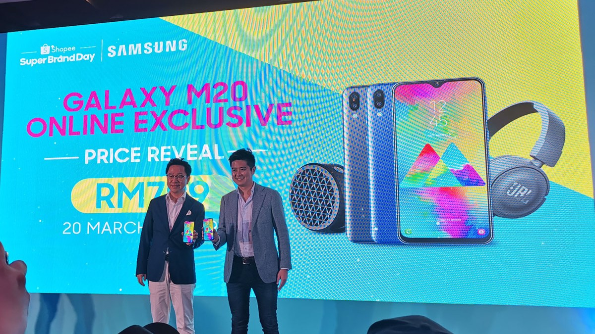 Samsung Galaxy M20 announced; priced at RM799