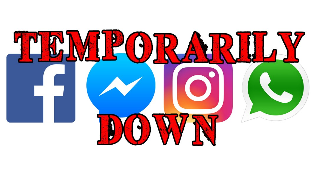 Facebook Instagram WhatsApp Messenger temporarily down