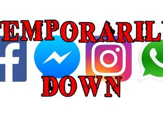 Facebook Instagram WhatsApp Messenger temporarily down