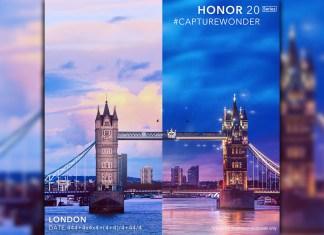 HONOR 20 math teaser London