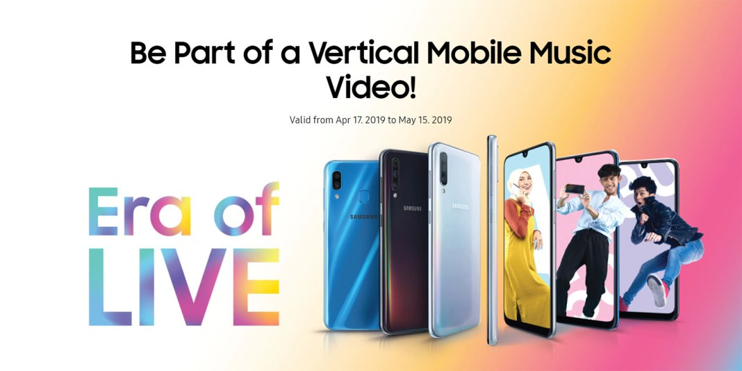 Stand a chance to appear in the Milikmu vertical mobile music video with Samsung brings #EraofLIVE challenge on TikTok