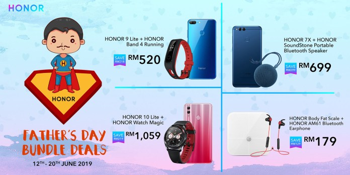 HONOR Malaysia Father's Day deals