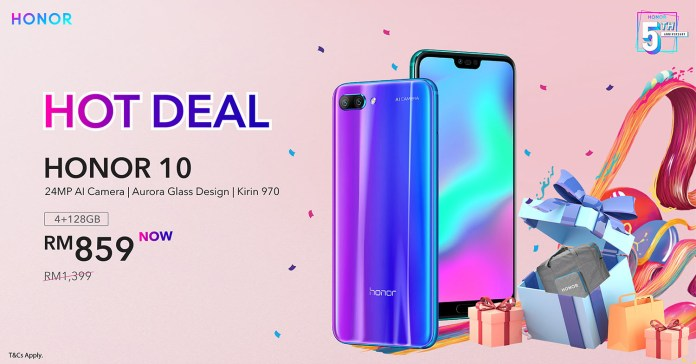 HONOR Malaysia offers up to 50% discount until 17th July 2019
